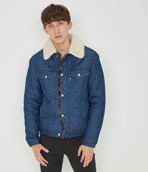 MAISON KITSUNÉ PARIS MEN - メゾン キツネ メン | DENIM TRUCKER JACKET