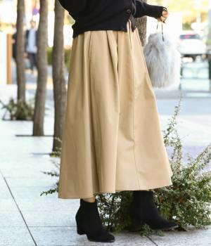 ViS - ビス | 【WEB限定】チノボリュームスカート