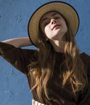 SALON adam et ropé WOMEN - サロン アダム エ ロペ ウィメン | 【田中帽子×SALON】パイピングカンカン帽