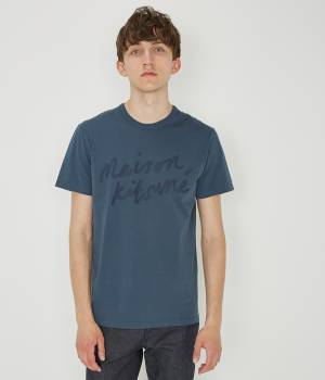 MAISON KITSUNÉ PARIS MEN - メゾン キツネ メン | TEE HANDWRITING