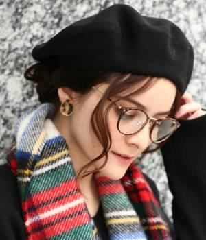Adam et Ropé Le Magasin WOMEN - アダム エ ロペ ル マガザン ウィメン   【Le Beret Francais】カラーベレー帽