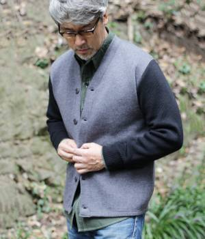 ADAM ET ROPÉ HOMME - アダム エ ロペ オム | 【予約】【BONCOURA EXCLUSIVE for WILD LIFE TAILOR】BICOLOR IVY CARDIGAN