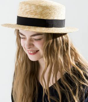 SALON adam et ropé WOMEN - サロン アダム エ ロペ ウィメン | 【田中帽子×SALON】カンカン帽(太麦)