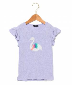ROPÉ PICNIC KIDS - ロペピクニック キッズ | 【ROPE' PICNIC KIDS】フラミンゴアップリケTシャツ