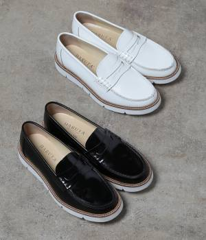 SALON adam et ropé WOMEN - サロン アダム エ ロペ ウィメン | HARUTA for SALON WHITE LOAFER