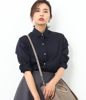 ROPÉ - ロペ | 【Oggi10月号掲載】カフス刺繍入りシャツ
