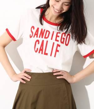 ViS - ビス | 【WEB限定カラー】リンガープリントTシャツ