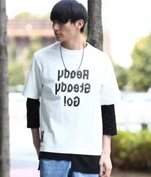 JUN SELECT - ジュンセレクト | 【先行予約】【Ready Steady GO!÷JUNRed】ミラーロゴTシャツ