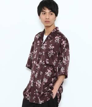 JUNRed - ジュンレッド   【予約】フローラオープンカラー半袖シャツ