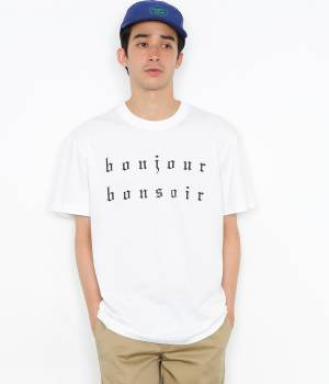 bonjour bonsoir - ボンジュールボンソワール | 【bonjour bonsoir】BONJOUR BONSOIR TEE
