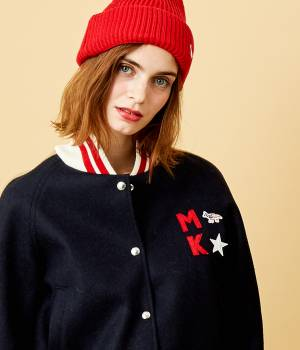 MAISON KITSUNÉ PARIS WOMEN - メゾン キツネ ウィメン | 【先行予約】BICOLOR TEDDY