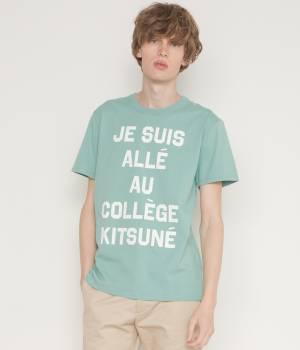 MAISON KITSUNÉ PARIS MEN - メゾン キツネ メン | TEE SHIRT JE SUIS ALLE