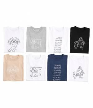 JUN SELECT - ジュンセレクト | 【今だけ!WEB店舗限定49%OFF】【mini 7月号掲載】Ken Kagami×JUNRedサマーTシャツ