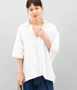 ADAM ET ROPÉ FEMME - アダム エ ロペ ファム | 【TIME SALE】バックオープンカラーシャツ2