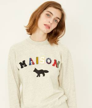 MAISON KITSUNÉ PARIS WOMEN - メゾン キツネ ウィメン | SWEAT SHIRT MAISON FOX