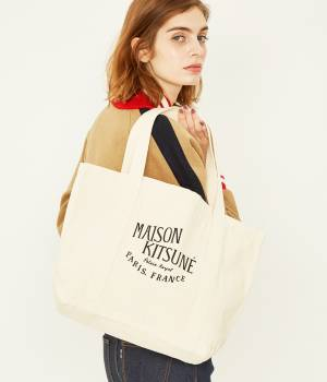 MAISON KITSUNÉ PARIS WOMEN - メゾン キツネ ウィメン | SHOPPING BAG PALAIS ROYAL