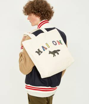 MAISON KITSUNÉ PARIS WOMEN - メゾン キツネ ウィメン | TOTE BAG MAISON FOX