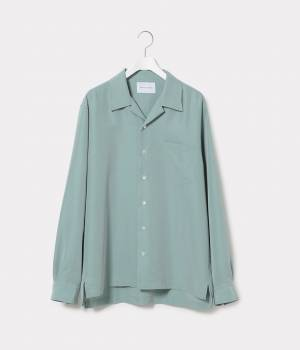 ADAM ET ROPÉ HOMME - アダム エ ロペ オム | 【予約】パウダーポプリンオープンカラーシャツ