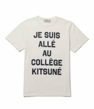 MAISON KITSUNÉ PARIS MEN - メゾン キツネ メン | PERM TEE SHIRT JE SUIS ALLE
