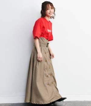 ViS - ビス | 【予約】【ViS×高橋愛】トレンチスカート