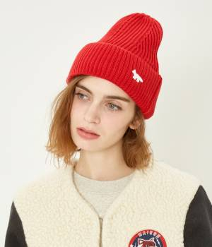 MAISON KITSUNÉ PARIS WOMEN - メゾン キツネ ウィメン | RIBBED HAT