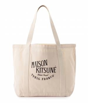 MAISON KITSUNÉ PARIS MEN - メゾン キツネ メン | 【先行予約】PERM SHOPPING BAG PALAIS ROYAL