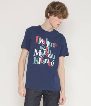 MAISON KITSUNÉ PARIS MEN - メゾン キツネ メン | TEE SHIRT PLAYTIME