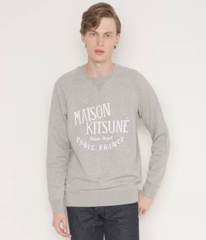 MAISON KITSUNÉ PARIS MEN - メゾン キツネ メン | PERM SWEAT SHIRT PALAIS ROYAL