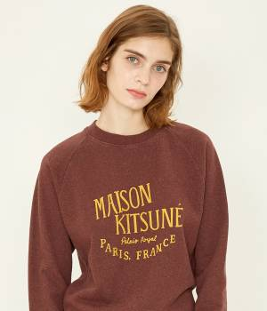 MAISON KITSUNÉ PARIS WOMEN - メゾン キツネ ウィメン | SWEAT SHIRT PALAIS ROYAL