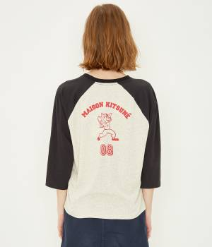 MAISON KITSUNÉ PARIS WOMEN - メゾン キツネ ウィメン | TEE SHIRT LONG SLEEVES MK 08