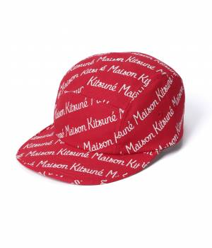 MAISON KITSUNÉ PARIS MEN - メゾン キツネ メン | 【TIME SALE】CAP 5P ALL-OVER MAISON KITSUNE