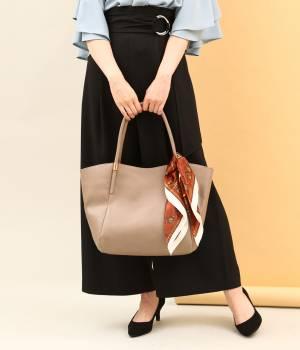 ViS - ビス | スカーフ付きメタルポイントトートバッグ