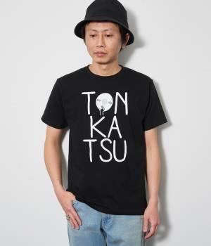 JUN SELECT - ジュンセレクト | とんかつDJアゲ太郎×JUNRed WEB別注ブラックライトとんかつTシャツ