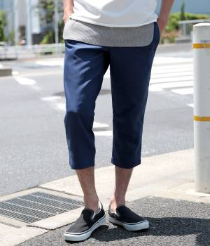JUNRed - ジュンレッド   【今だけ!WEB店舗限定34%OFF】綿麻クロップドパンツ