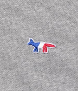 MAISON KITSUNÉ PARIS MEN - メゾン キツネ メン | TRICOLOR PATCH SWEAT