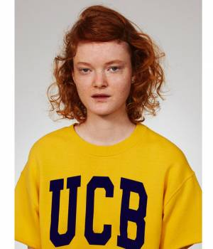 ADAM ET ROPÉ FEMME - アダム エ ロペ ファム | 【先行予約】【UNITED COLORS OF BENETTON. FOR ADAM ET ROPE'】UCB short sleeve raised inner pull over