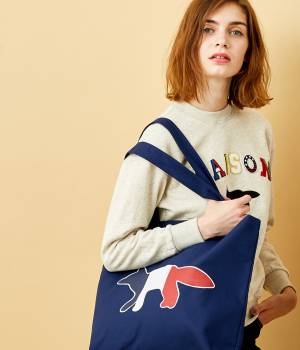 MAISON KITSUNÉ PARIS WOMEN - メゾン キツネ ウィメン | TOTE BAG TRICOLOR FOX