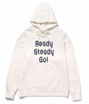 JUN SELECT - ジュンセレクト | 【Ready Steady GO!÷JUNRed】プリントパーカー