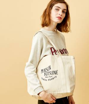 MAISON KITSUNÉ PARIS WOMEN - メゾン キツネ ウィメン | PERM SHOPPING BAG PALAIS ROYAL