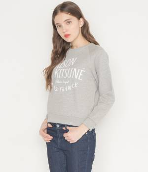 MAISON KITSUNÉ PARIS WOMEN - メゾン キツネ ウィメン | PERM SWEAT SHIRT PALAIS ROYAL