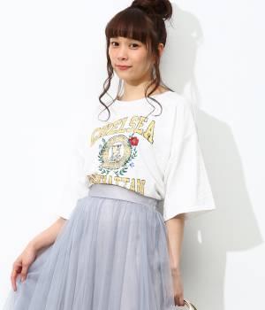 ViS - ビス | 【今だけ!WEB店舗限定10%OFF】USED風刺しゅうプリントTシャツ