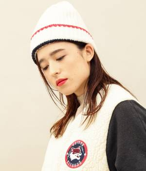 MAISON KITSUNÉ PARIS WOMEN - メゾン キツネ ウィメン | MULTICOLOR RIBBED HAT