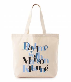 MAISON KITSUNÉ PARIS WOMEN - メゾン キツネ ウィメン | TOTE BAG PLAYTIME