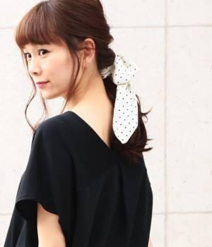 ViS - ビス | 【ただいまセール開催中】ドットガラナロースカーフ