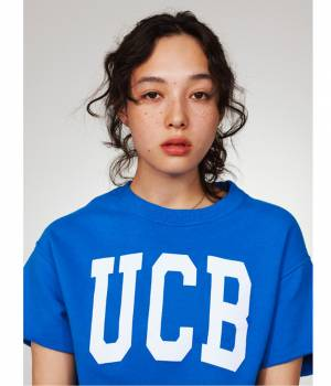 ADAM ET ROPÉ FEMME - アダム エ ロペ ファム | 【UNITED COLORS OF BENETTON. FOR ADAM ET ROPE'】UCB short sleeve raised inner pull over