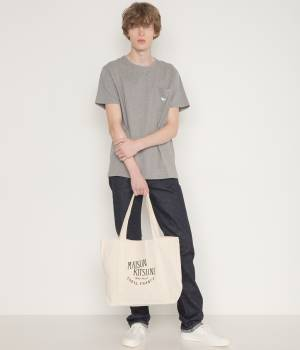 MAISON KITSUNÉ PARIS MEN - メゾン キツネ メン | TEE SHIRT FOX EMBROIDERED