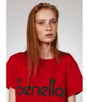 ADAM ET ROPÉ FEMME - アダム エ ロペ ファム | 【先行予約】【UNITED COLORS OF BENETTON. FOR ADAM ET ROPE'】Flocky vintage logo t-shirt