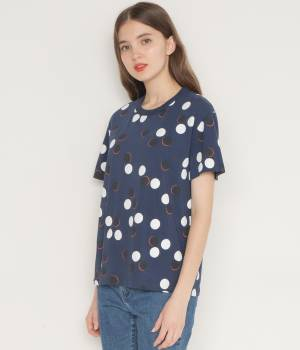 MAISON KITSUNÉ PARIS WOMEN - メゾン キツネ ウィメン | 【先行予約】TEE-SHIRT ALL-OVER DOTS