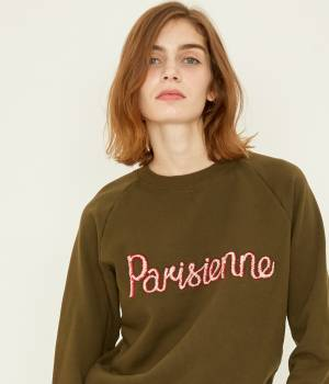 MAISON KITSUNÉ PARIS WOMEN - メゾン キツネ ウィメン | SWEAT SHIRT PARISIENNE