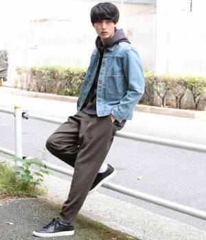 JUNRed - ジュンレッド   【先行予約】WEB別注ウォームクロスワイドパンツ